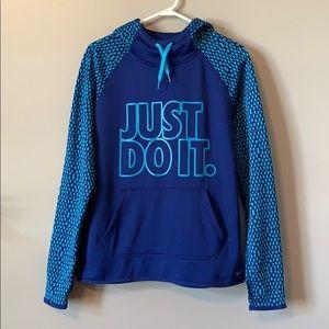 Nike blue sweatshirt